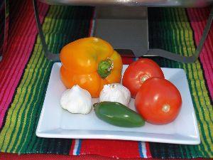 The Taco Man - Fresh Vegetables